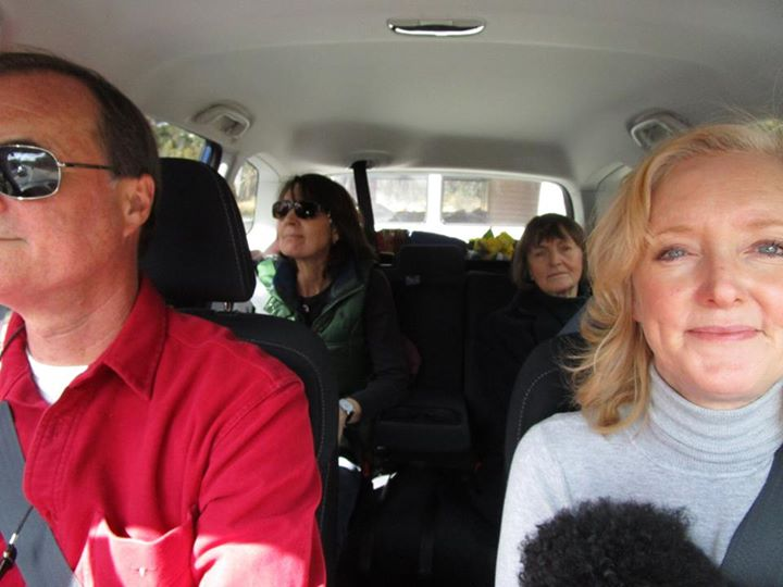 Road trip with Mum, Fi, Justin, Boo Boo and me.